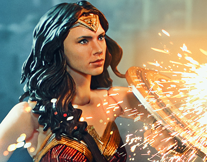 Wonder Woman S.H. figuarts (simple Photomontage)