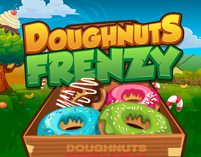 Doughnuts Frenzy (match 3 game)