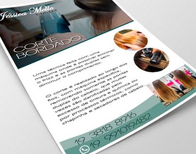 Projeto Panfleto Jessica Mello Hair