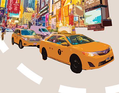 WALKING NEW YORK (editorial design)