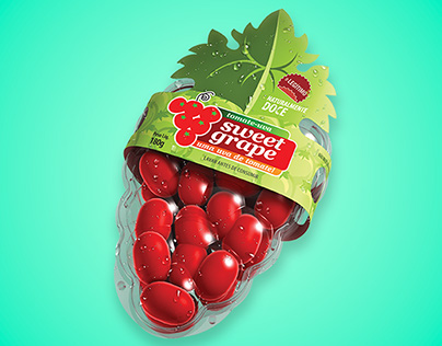 Sweet Grape tomatoes Branding and Packaging