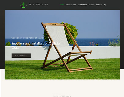 The Perfect Lawn Website