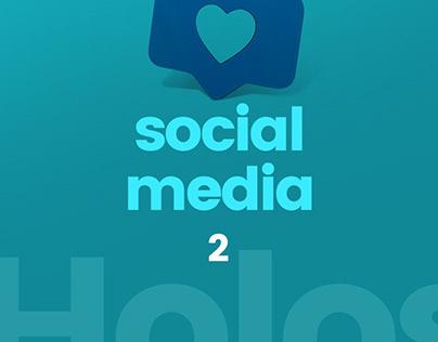 Clínica Holos | Social Media (pt. 2)