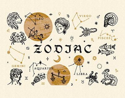Zodiac Signs Bundle