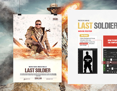 The Last Soldier Movie Poster/Flyer