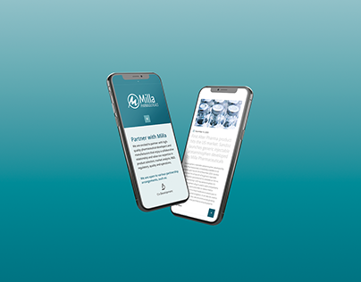 Milla Pharmaceuticals Web