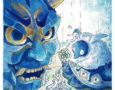 Genshin Impact, Maguu Kenki and Cyro Abyss Mage