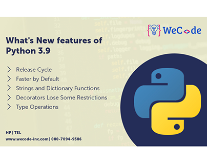 What's New features of Python 3.9