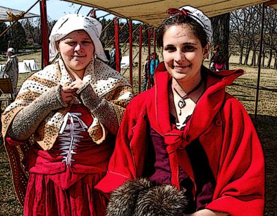 Faces of the Revolutionary War Reenactors