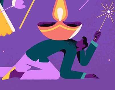 Diwali - Illustration