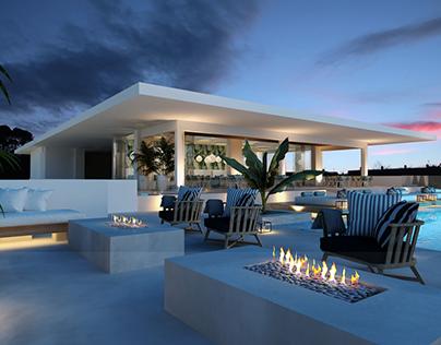 Hotel Rooftop design