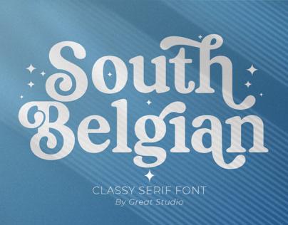 South Belgian Serif Font
