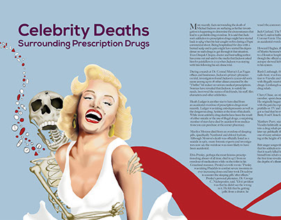 Celebrity Prescription Drug Editorial