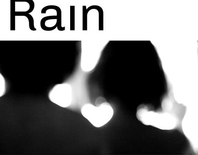 August Rain Poster