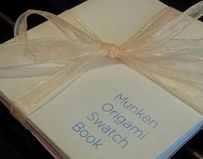 Munken Origami Swatch Book