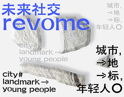 未来社交APP字体/视觉设计/Font design /Poster design
