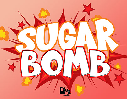 Sugar Bomb - Fun Display Font