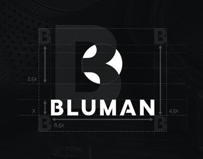 Bluman Brand Identity