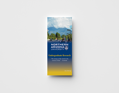 NAU Trifold Brochure