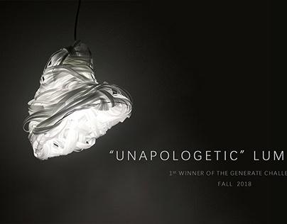 """Unapologetic"" Luminaire"