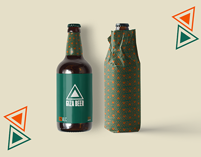 Giza Beer Product Design