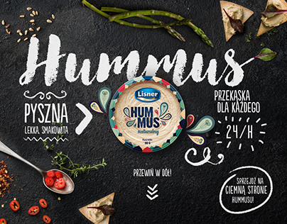 LISNER Hummus ● website