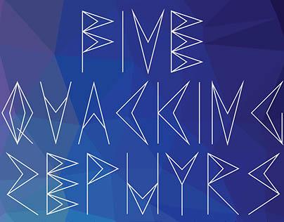 Tessera Typeface