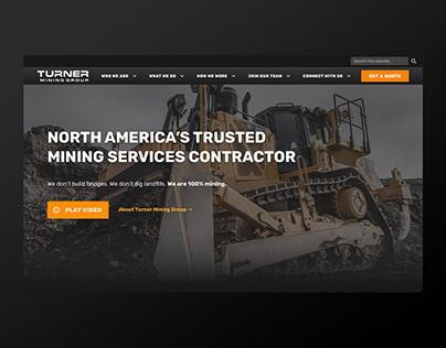 Turner Mining Group Website