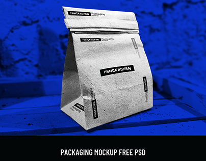 Packaging Mockup PSD Free Download