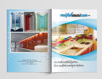 Mutfak Arası Cam Katalog Tasarım