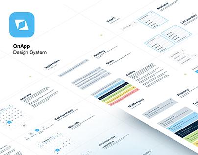 Design System for OnApp