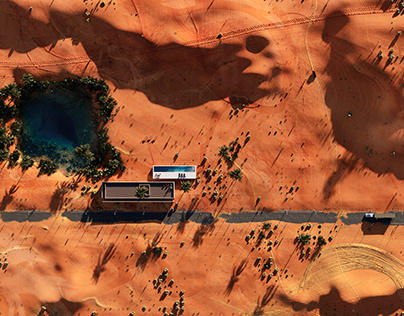 Drone Desert l Studio M6