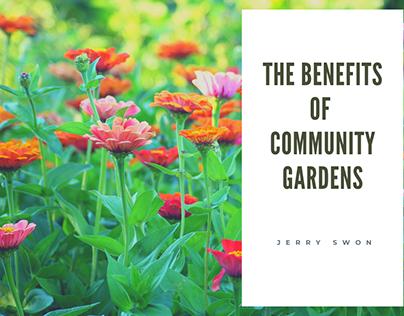 The Benefits of Community Gardens