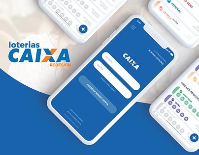 Loterias Caixa /// mobile app redesign