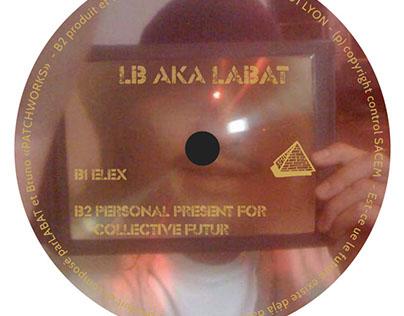Vinyl Label DKO09 - LB aka LABAT