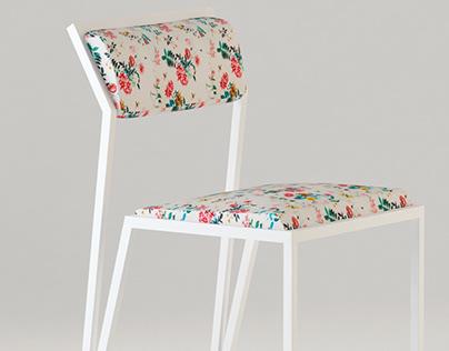 Chair Spring Velvet