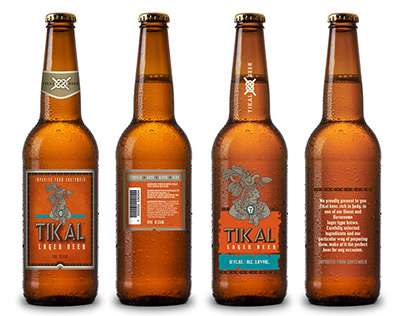 Tikal beer :: labeling and packaging