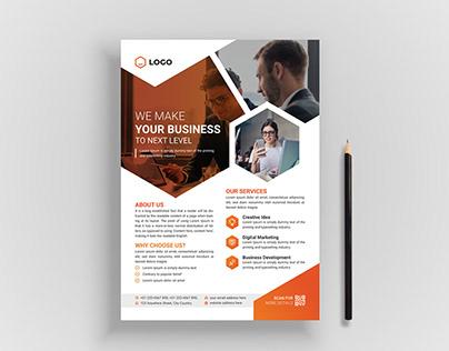 Creative Corporate & Business Flyer Template