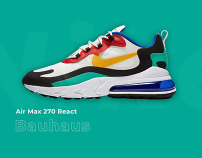 Explore the Nike AM270 Bauhaus