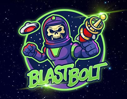 Blast Bolt Logo Design