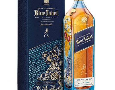 JOHNNIE WALKER |BLUE LABEL YEAR OF THE RAT