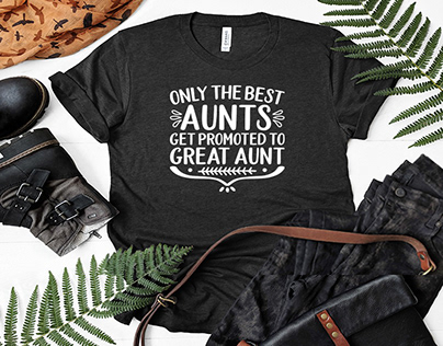 Only The Best Aunts Get Promoted To Great Aunt Gifts