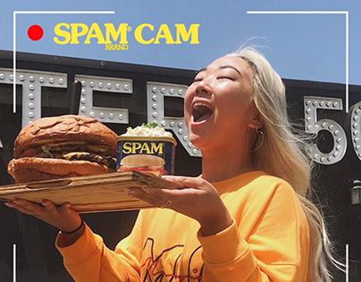 Spam Cam Carousel Ads