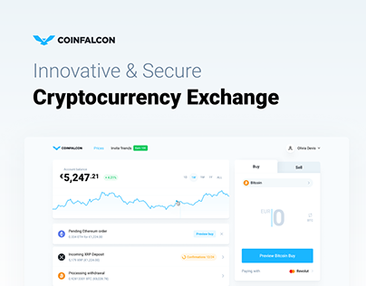 CoinFalcon - Cryptocurrency Exchange