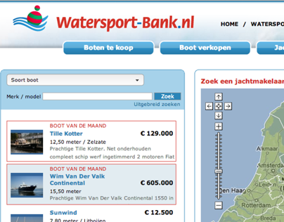 Watersport-Bank