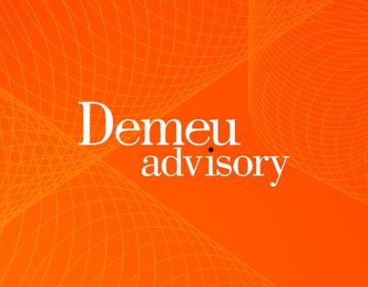 """Логотип для консалтингового агентства """"Demeu"""""""