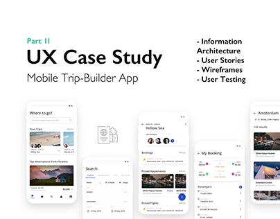 Travel mobile service: UX Case Study (part 2)