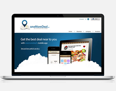 onemoredeal UX/UI