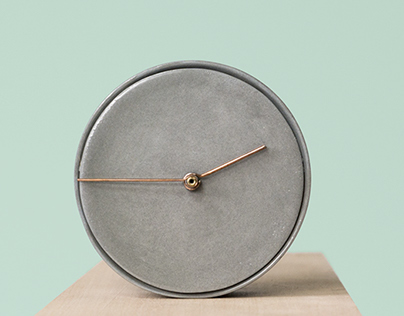 Ceramics Clock