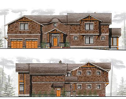Clark Residence Renderings